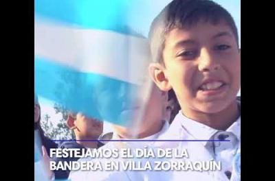 Embedded thumbnail for Celebración del Día de la Bandera en Villa Zorraquín