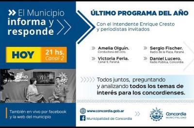 Embedded thumbnail for El Municipio Informa y Responde (especial de fin de año)