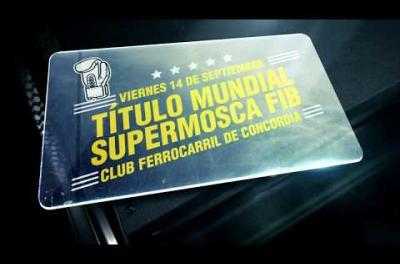 Embedded thumbnail for Título Mundial Supermosca FIB en Concordia