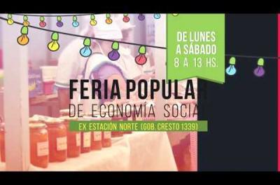 Embedded thumbnail for Feria Popular de la Economía Social