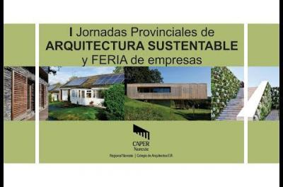 Embedded thumbnail for  1º Jornadas de Arquitectura Sustentable